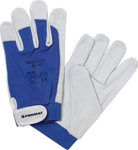 Handschuhe Donau Gr.11 natur/blau