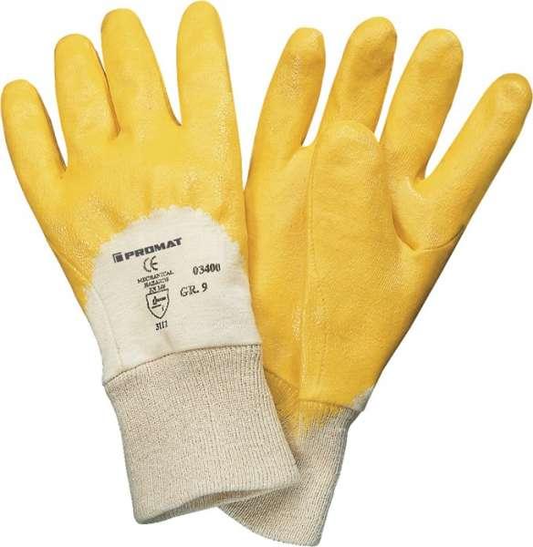 Handschuhe Lippe Gr.7 gelb