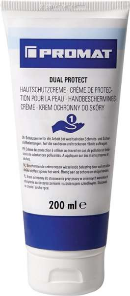 Hautschutzcreme Dual Protect 200ml