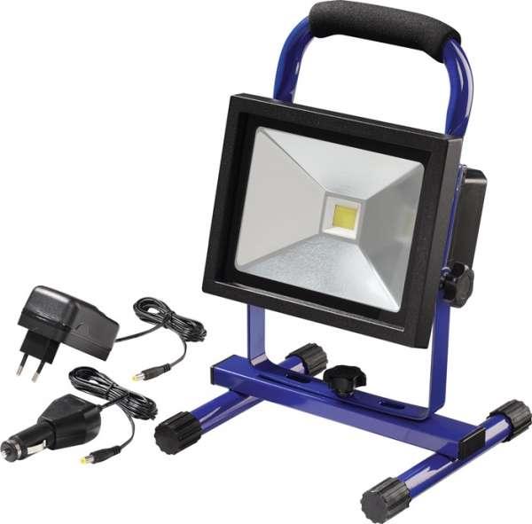 LED-Strahler 20W ca.1400 lm Li-Ion 4400 mAh 7,4 V IP65 PROMAT