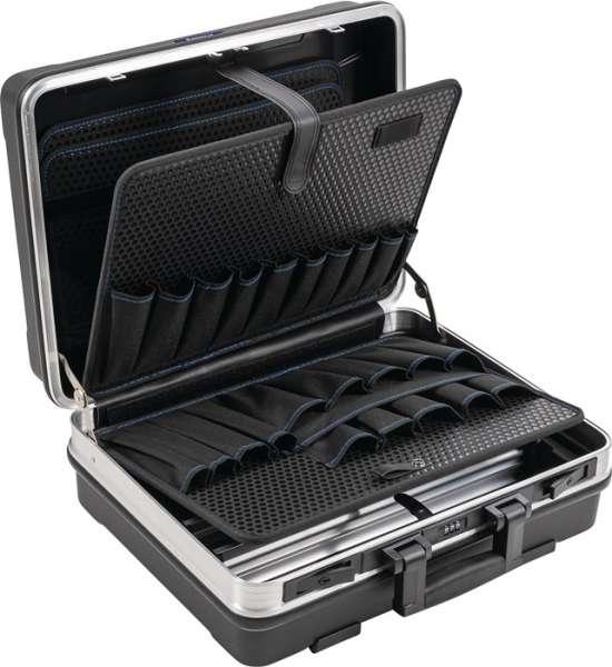 Schalenkoffer BxTxHmm m.Wkz.taschen 29l ABS-Ku.Alu-Rahmen PROMAT