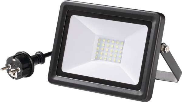 LED-Strahler 30W 2200 lm 2m H05RN-F 3x1 mm² IP65 PROMAT