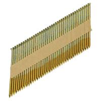Streifennägel D-Kopf 34° 3,1×90 mm, gerillt, verzinkt