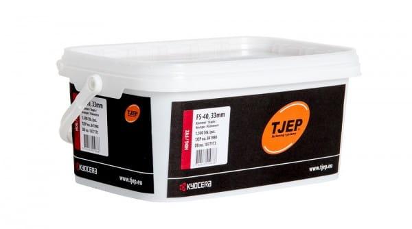Klammern TJEP FS-40, 33 mm