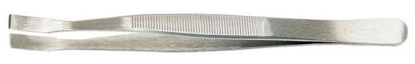 Flachpinzette Gesamt-L.120mm eckige Spitzen VA PROMAT