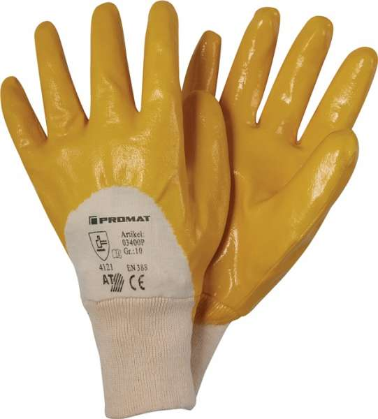 Handschuhe Ems Gr.10 gelb besonders