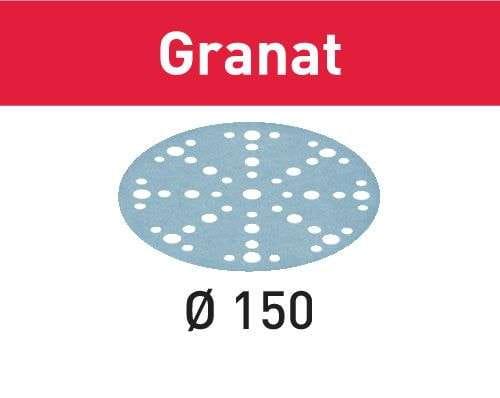 Festool Schleifscheibe STF D150/48 P120 GR/100 Granat Körnung P120; Durchmesser 150 mm