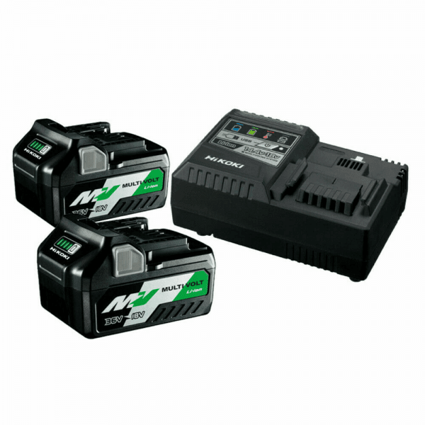 Hikoki Akku-Ladegerät BSL36A + 2x18V UC18YSL3 MULTI VOLT