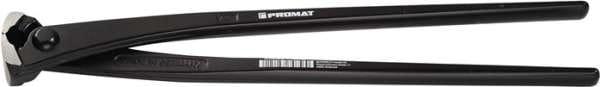 Kraftmonierzange DIN ISO 9242 L.300mm pol.schwarz lack.PROMAT