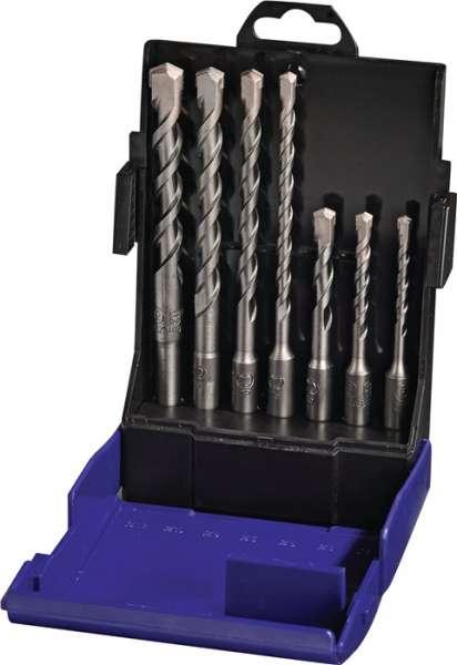 Hammerbohrersatz SDS-Plus 7-tlg.SDS-Plus Ku.-Box PROMAT