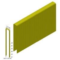 Klammern Type Q56 CNKHA 12 µm verzinkt, geharzt, ETA Diamond coating