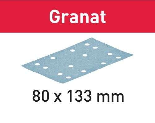 Festool Schleifstreifen STF 80x133 P40 GR/50 Granat Körnung P40