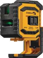 Kreuzlinien-Lotlaser LAX 300G 30 m ± 0,3 mm/m STABILA