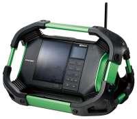 Hikoki Akku-Baustellenradio UR18DSDL (DAB, Bluetooth)