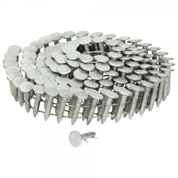 Coil-Dachpappstifte 3,05 x 19 mm, feuerverzinkt, gerillt