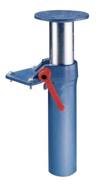 Höhenverstellgerät f.Backen-B.140/160mm f.PROMAT m.Zweilochbefestigung