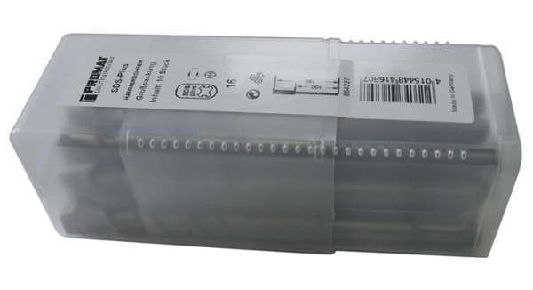 Hammerbohrer Großpackung D.8,0mm Arbeits-L.100mm L.160mm 10 St.SDS-plus PROMAT