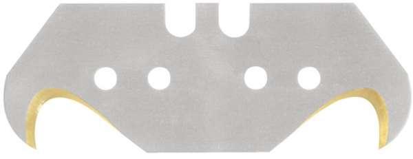 Hakenklinge L48,2xB18,7xS0,65mm Titan m.Lochung 10 St./Spender PROMAT