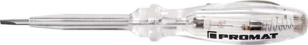 Spannungsprüfer 24090 150-250 V AC einpolig Schneiden-B.3mm PROMAT