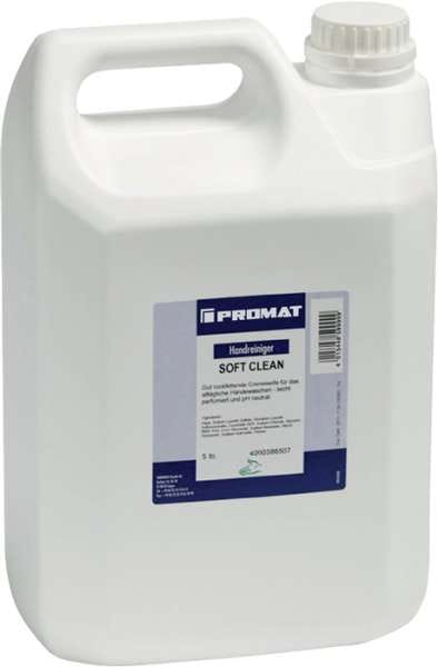 Seifencreme Soft Clean 5l f.4000386509