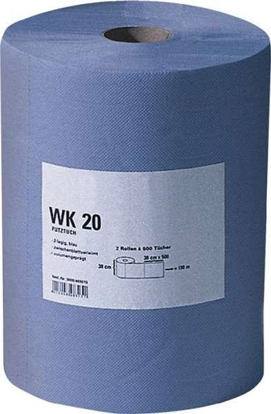 Putztuch WK 30 L380xB380ca.mm blau